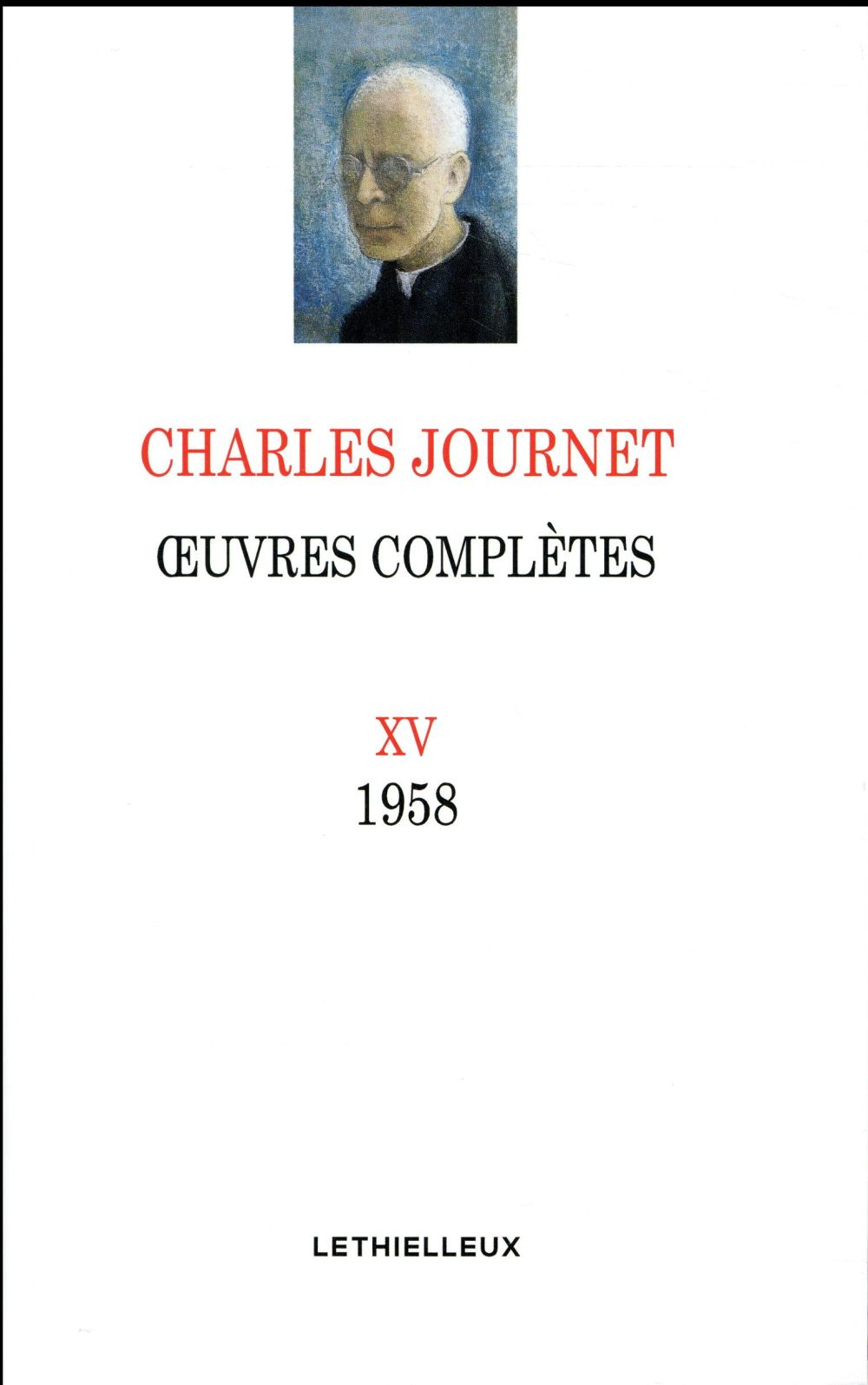 Oeuvres complètes 1958 Vol.15